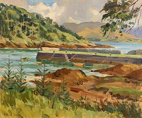 Robert Taylor Carson, Blackwater, Kenmare River, Co Kerry at Morgan O'Driscoll Art Auctions