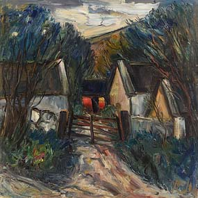 Peter Collis, The Farm Gate, Co Wicklow at Morgan O'Driscoll Art Auctions