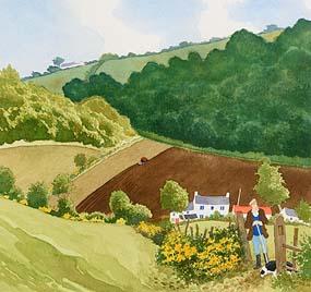 James MacIntyre, Spring Ploughing (1998) at Morgan O'Driscoll Art Auctions