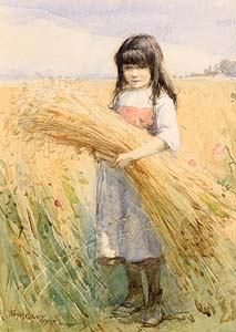 Frank McKelvey, Harvest Time (1920) at Morgan O'Driscoll Art Auctions