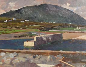 Maurice MacGonigal, Porteen at Morgan O'Driscoll Art Auctions