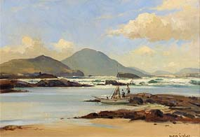 Maurice Canning Wilks, The Fishermen Returning Home at Morgan O'Driscoll Art Auctions