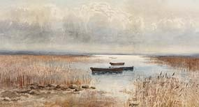 Percy French, Connemara Landscape (1893) at Morgan O'Driscoll Art Auctions