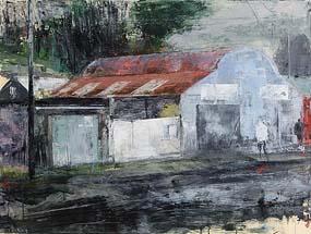 Donald Teskey, Garage (2012) at Morgan O'Driscoll Art Auctions