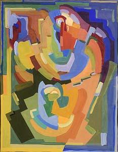 Evie Hone, Composition at Morgan O'Driscoll Art Auctions