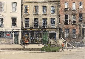 Flora Mitchell, 19 St Stephen's Green, Dublin 2 at Morgan O'Driscoll Art Auctions
