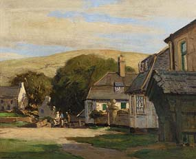 Maurice Canning Wilks, Cushendun Village at Morgan O'Driscoll Art Auctions