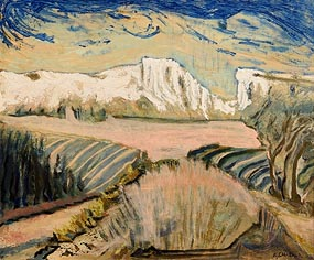 Auguste Chabaud, Entre les Montagnettes at Morgan O'Driscoll Art Auctions