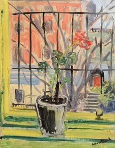Nano Reid, Geranium on a Window Sill at Morgan O'Driscoll Art Auctions