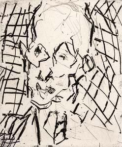 Frank Auerbach, Bill (2009) at Morgan O'Driscoll Art Auctions