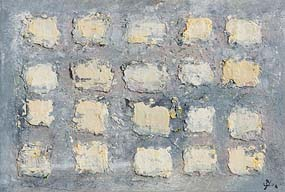 John Kingerlee, Blue Grid I (2004) at Morgan O'Driscoll Art Auctions