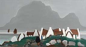 Markey Robinson, Looking Towards Slievemore, Achill at Morgan O'Driscoll Art Auctions