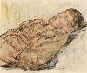 William Conor, Gentleman Resting at Morgan O'Driscoll Art Auctions