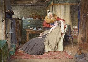 Erskine Nicol, Her Ain Bairn (1887) at Morgan O'Driscoll Art Auctions