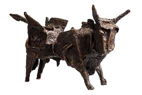 John Behan, Canal Bull at Morgan O'Driscoll Art Auctions