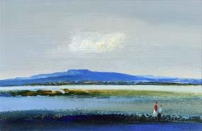 Daniel O'Neill, Coastal Scene, Co Down (1973) at Morgan O'Driscoll Art Auctions