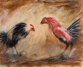 Basil Blackshaw, The Dust Settles at Morgan O'Driscoll Art Auctions