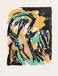 Karel Appel, Small Personage (1962) at Morgan O'Driscoll Art Auctions