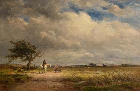 Wycliffe Egginton, The Road Across the Common at Morgan O'Driscoll Art Auctions