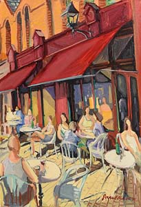 Gerard Byrne, Dublin Street Cafe (1995) at Morgan O'Driscoll Art Auctions