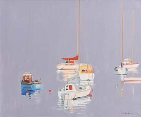 Maurice Henderson, Bantry Bay at Morgan O'Driscoll Art Auctions