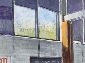 Mick O'Dea, Artist's Studio Massachusetts (2001) at Morgan O'Driscoll Art Auctions