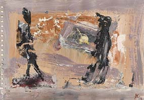 John Kingerlee, Windy Walk at Morgan O'Driscoll Art Auctions