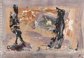 John Kingerlee, Windy Walk at Morgan O'Driscoll Art Auctions