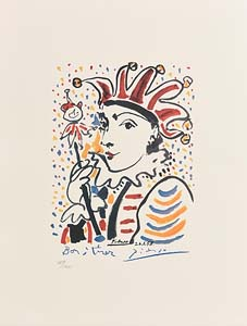Pablo Picasso, Carnival at Morgan O'Driscoll Art Auctions