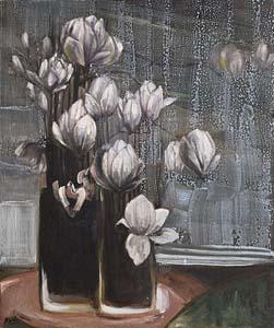 Mia Funk, Magnolias - Shades of Grey II (2009) at Morgan O'Driscoll Art Auctions