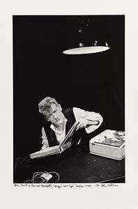 John Minihan, John Hurt in Samuel Beckett's 'Krapp's Last Tape', London 1999 at Morgan O'Driscoll Art Auctions