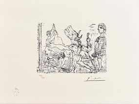 Pablo Picasso, Vollard Sweet No.XCV at Morgan O'Driscoll Art Auctions