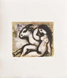 Marc Chagall, Naked Shepherdess at Morgan O'Driscoll Art Auctions