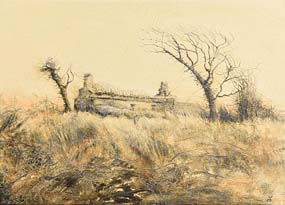 Claire Patricia Halliday, Kilderry Ruin II (2015) at Morgan O'Driscoll Art Auctions