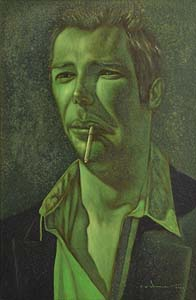 Mark (Rasher) Kavanagh, Green Mood (2002) at Morgan O'Driscoll Art Auctions