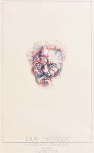 Louis Le Brocquy, Strindberg at Morgan O'Driscoll Art Auctions