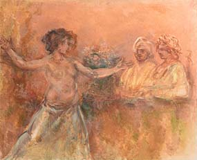 Stella Steyn, Ophelia Dancing at Morgan O'Driscoll Art Auctions