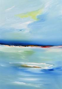 Majella O'Neill Collins, Seas Sherkin, Evening II at Morgan O'Driscoll Art Auctions