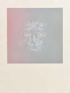 Louis Le Brocquy, Study of Samuel Beckett at Morgan O'Driscoll Art Auctions
