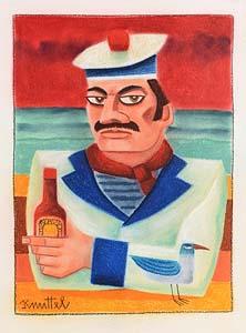 Graham Knuttel, Navy Man at Morgan O'Driscoll Art Auctions