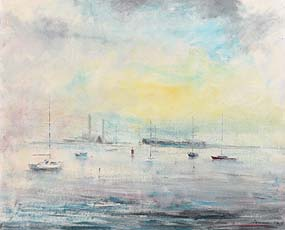 Peter Pearson, Poolbeg, Dublin (1994) at Morgan O'Driscoll Art Auctions