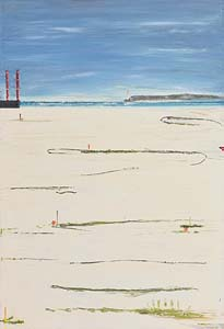 William Evesson, Poolbeg Lighthouse, Dublin (2009) at Morgan O'Driscoll Art Auctions