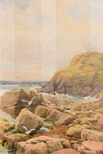 Helen O'Hara, Seascape at Morgan O'Driscoll Art Auctions