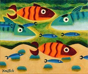 Graham Knuttel, The Deep Blue at Morgan O'Driscoll Art Auctions
