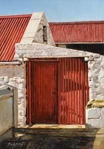 Mark O'Neill, Ballybunion Red at Morgan O'Driscoll Art Auctions