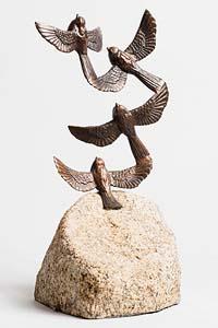 Bobby Blount, Birds in Flight at Morgan O'Driscoll Art Auctions