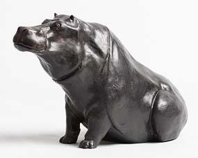 Mark Stoddart, Hippo at Morgan O'Driscoll Art Auctions