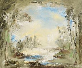 Carmel Mooney, River Bank at Morgan O'Driscoll Art Auctions