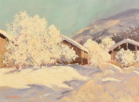George Gillespie, Winter Scene at Morgan O'Driscoll Art Auctions