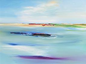 Majella O'Neill Collins, Sherkin Seas at Morgan O'Driscoll Art Auctions